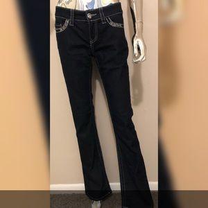 NWOT Daytrip Scorpio Bootcut Dark Wash Jeans 28L